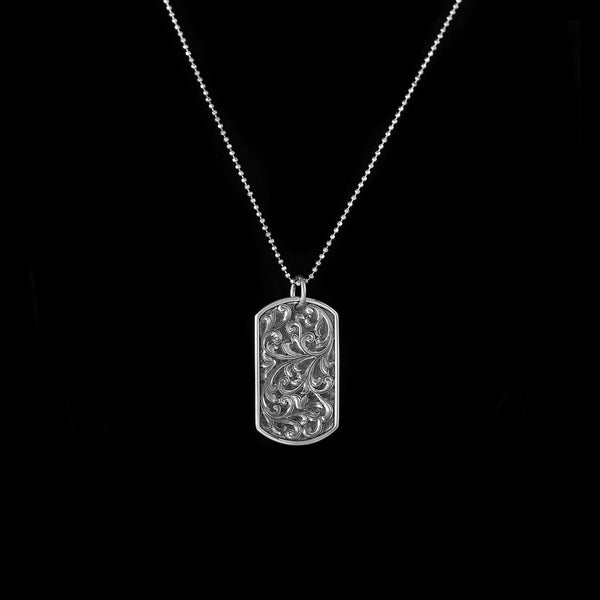 Vogt Silversmiths FINAL SALE SILVER The Silver Service Pendant