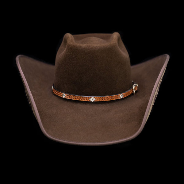 Vogt Silversmiths Hat Bands The Diamondback Hat Band