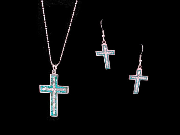 Vogt Silversmiths Limited Edition The Blue Flame Cross Cross Collection