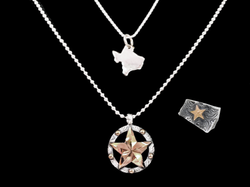 Vogt Silversmiths Limited Edition The God Blessed Texas Collection