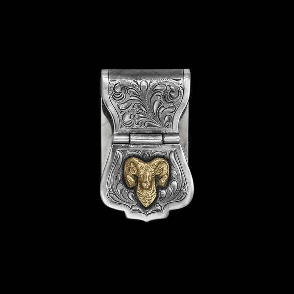 Vogt Silversmiths Money Clips NEW The Chet Vogt Big Horn Adventure
