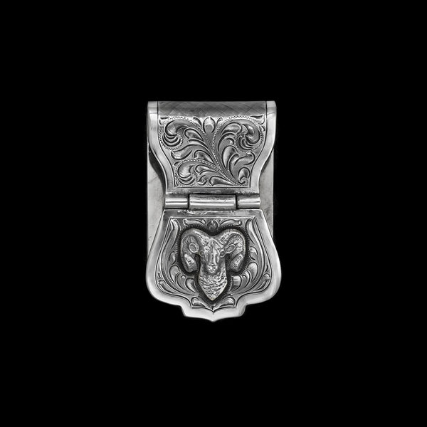 Vogt Silversmiths Outdoorsmen Money Clips The Black Hills Ram