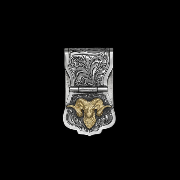 Vogt Silversmiths Outdoorsmen Money Clips The Chet Vogt Trophy Ram