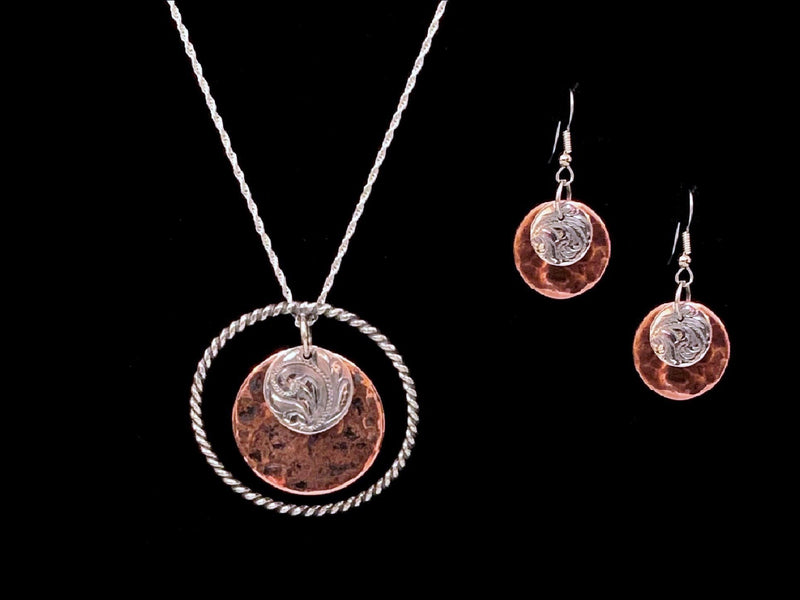 Vogt Silversmiths Pendant Sets The Coriente Duchess Set