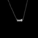 Vogt Silversmiths Pendants NEW! The Blessed Bar Necklace