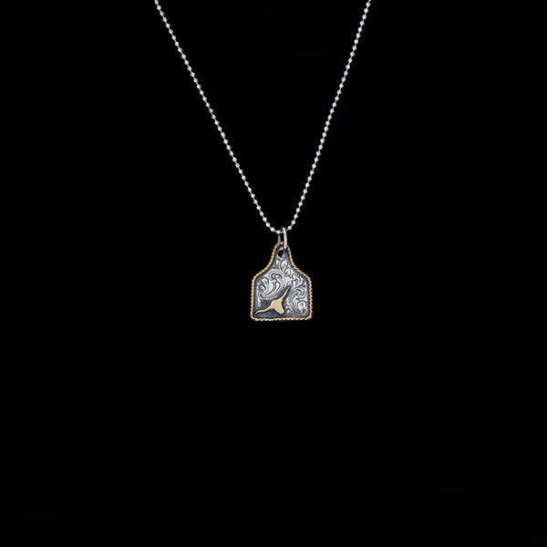 Vogt Silversmiths Pendants NEW! The Goldhorn Eartag Pendant