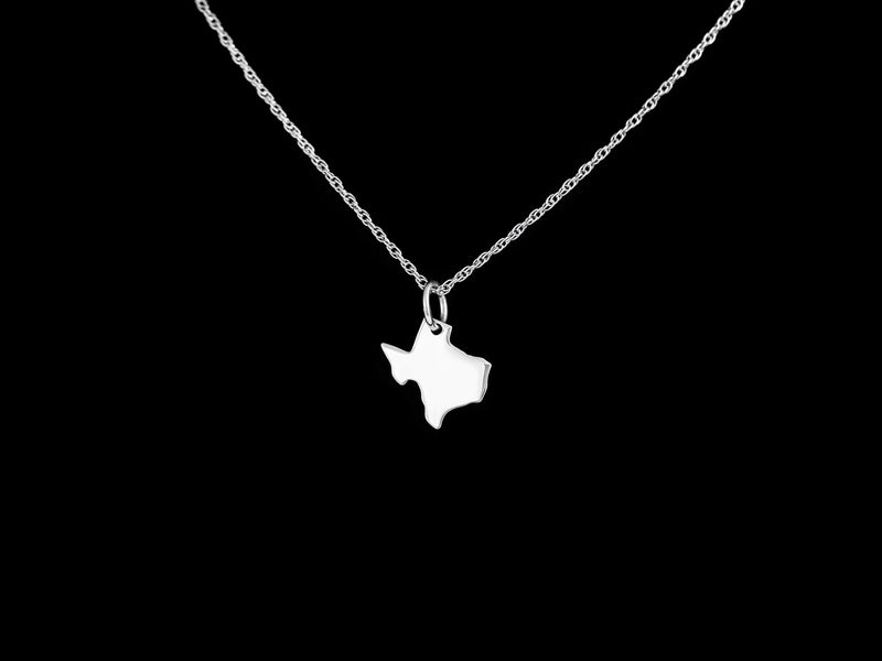 Vogt Silversmiths Pendants The Silver State of Texas 016-080