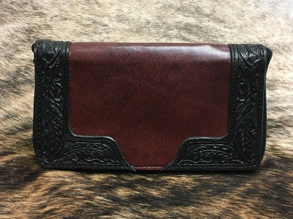 Vogt Silversmiths Portfolio Wallets The Red River Passport Wallet