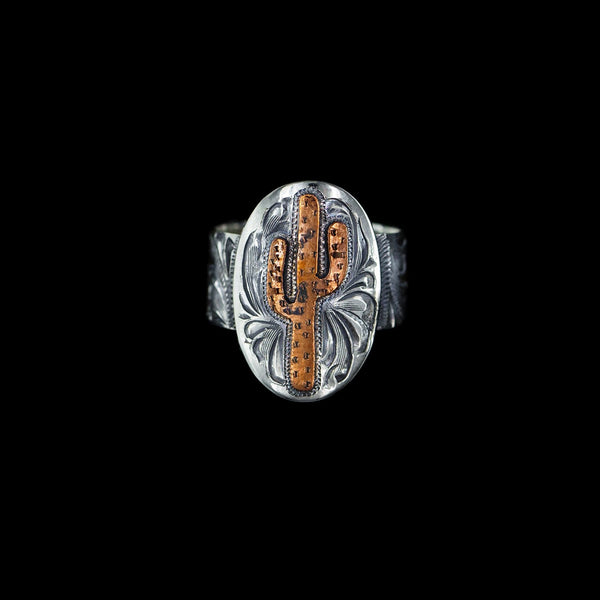 Vogt Silversmiths Rings The Copper Saguaro