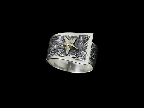 Vogt Silversmiths Rings The Gold Class Rancher's Wife 027-130