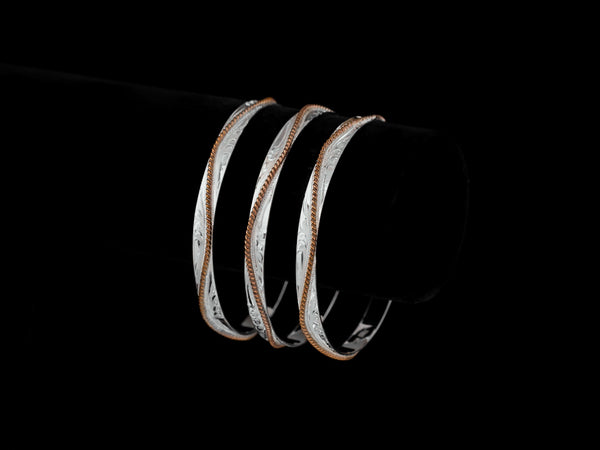 Vogt Silversmiths Sale Bracelets The Canyon Reata Bangles 014-208
