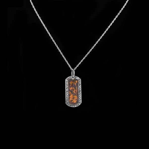 Vogt Silversmiths Sale Necklaces NOW 60% OFF The Copper Canyon Dog Tag 016-023