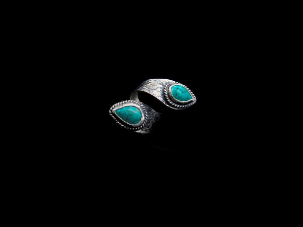 Vogt Silversmiths Sale Rings The Whitney Blue Reata 027-903