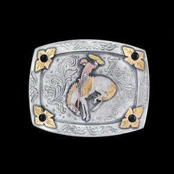 Vogt Silversmiths Trophy Buckles Black Onyx The Cosmic Cowboy Trophy Buckle