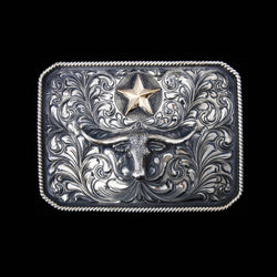 Vogt Silversmiths Trophy Buckles Default The Longhorn Star Buckle