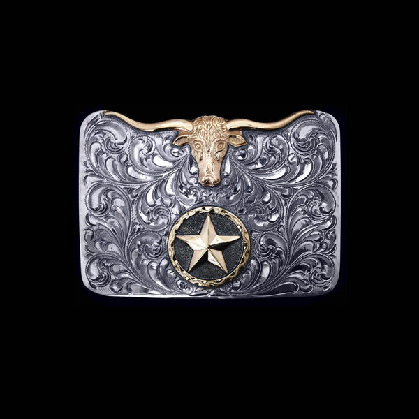 Vogt Silversmiths Trophy Buckles The Silhouette Trophy Buckle