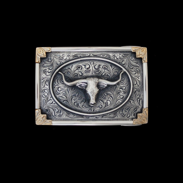 Vogt Silversmiths Trophy Buckles The Stockyards Trophy Buckle