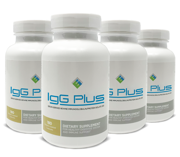 IgG Plus 180 Capsules - 4 Month Supply