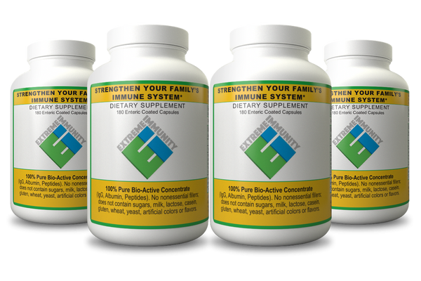 Extreme Immunity - Immune System Booster Capsules 4 Month Supply