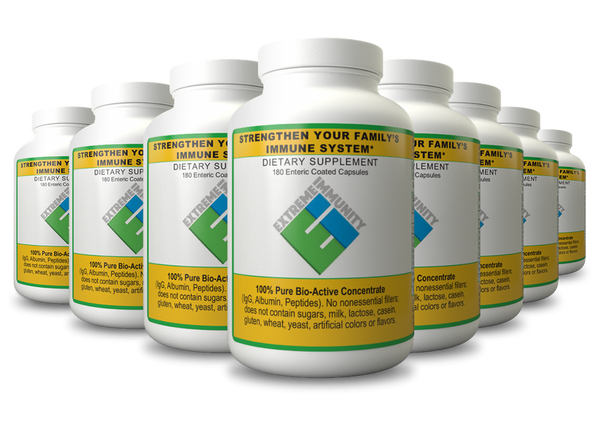 Extreme Immunity – Immune System Booster Capsules 8 Month Supply