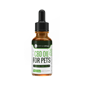 CBD Oil For Cats and Dogs | Beef Flavor Cannabidiol Oil For Pets-Health Smart Hemp