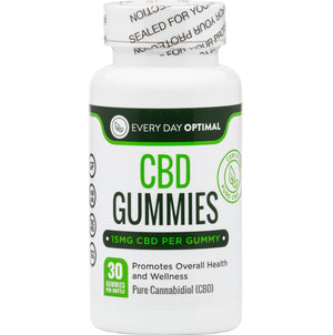 CBD Oil Gummies | 15mg CBD Gummy Bears-Health Smart Hemp