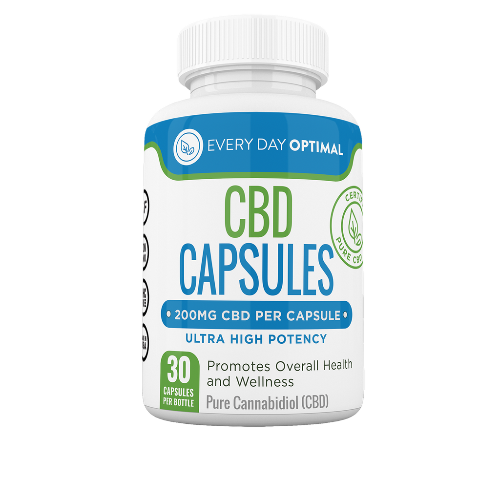 200mg CBD Capsules | 6,000mg per Bottle