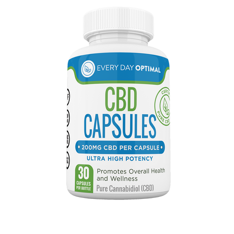 Image of 200mg CBD Capsules | 6,000mg per Bottle