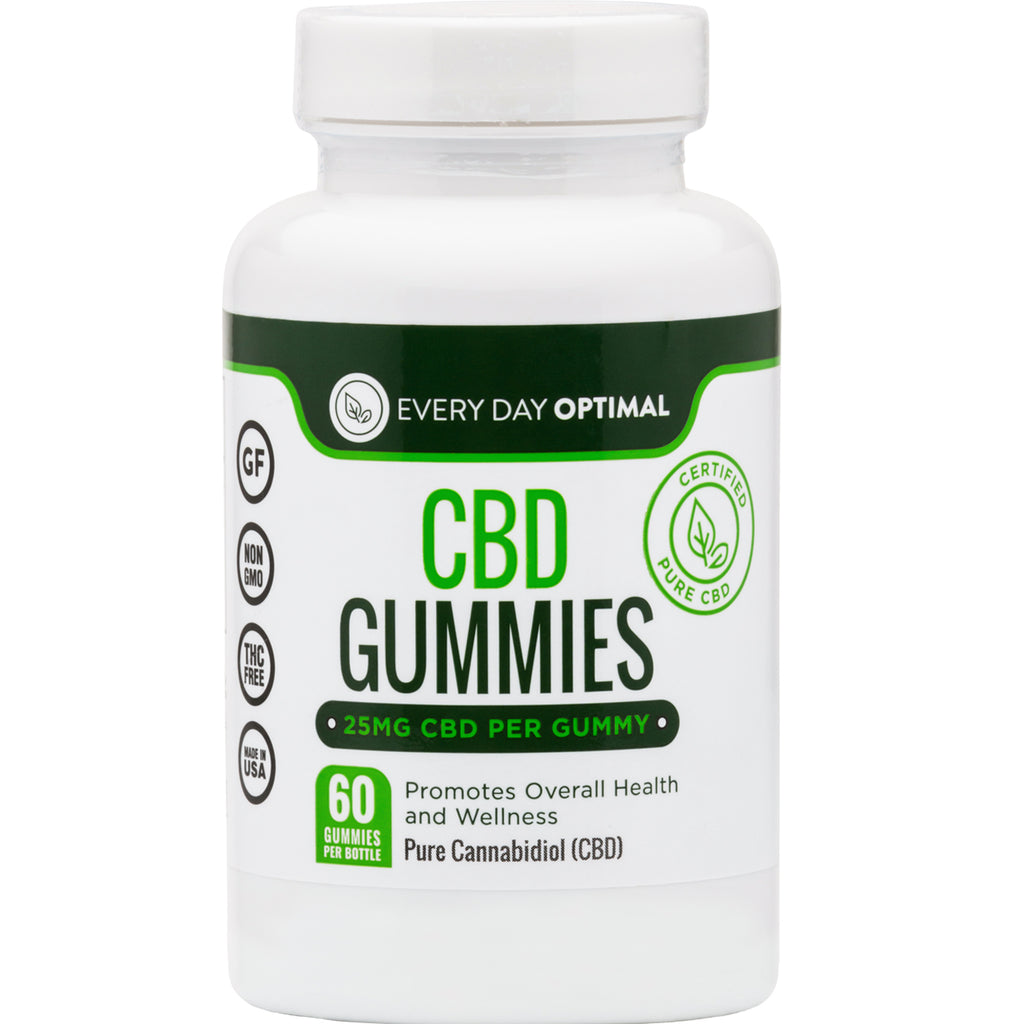 CBD Oil Gummies | 25mg CBD Gummy Bears-Health Smart Hemp