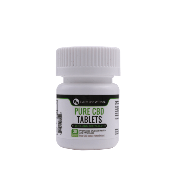CBD Tablets | 25mg-100mg Pure CBD-Health Smart Hemp