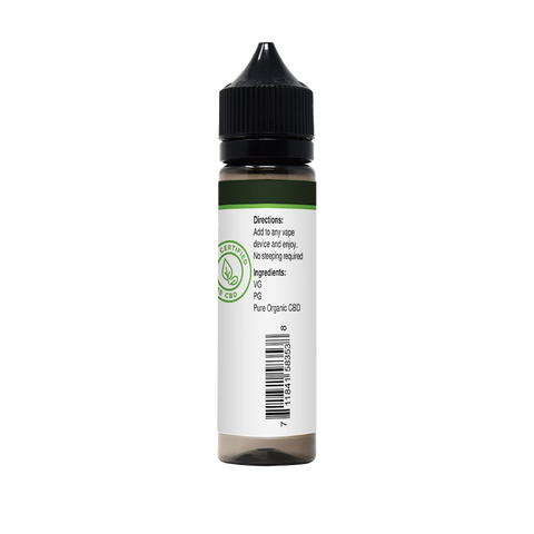 CBD E-Liquid For Vaping | 300mg CBD in 60ml Bottle | Marshmallow Magic