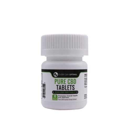 Image of CBD Tablets | 25mg-100mg Pure CBD-Health Smart Hemp