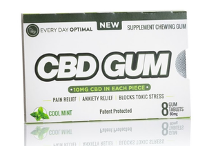 CBD Gum 10mg Pure CBD In Each Piece-Health Smart Hemp