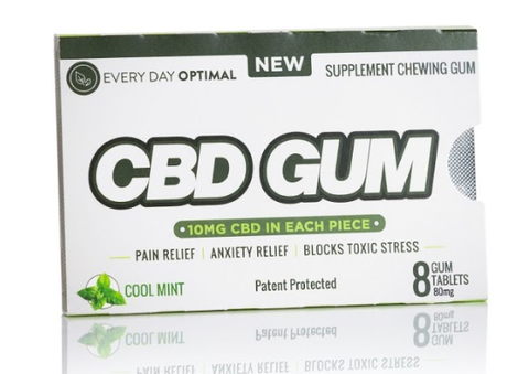 CBD Gum 10mg Pure CBD In Each Piece