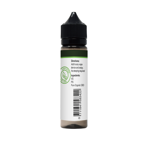 Image of CBD E-Liquid For Vaping | 300mg CBD in 60ml Bottle | Honey Melon Kush