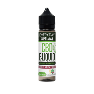 CBD E-Liquid For Vaping | 300mg CBD in 60ml Bottle | Honey Melon Kush