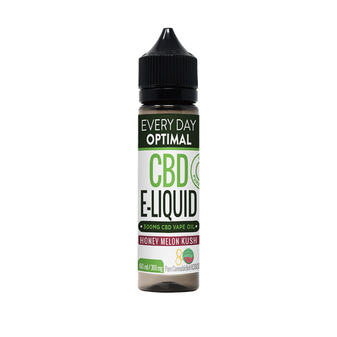 CBD E-Liquid For Vaping | 300mg CBD in 60ml Bottle | Honey Melon Kush-Health Smart Hemp