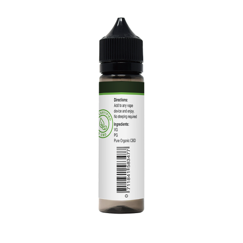1000mg Pure CBD Vape Oil | Strawberry Cream-Health Smart Hemp