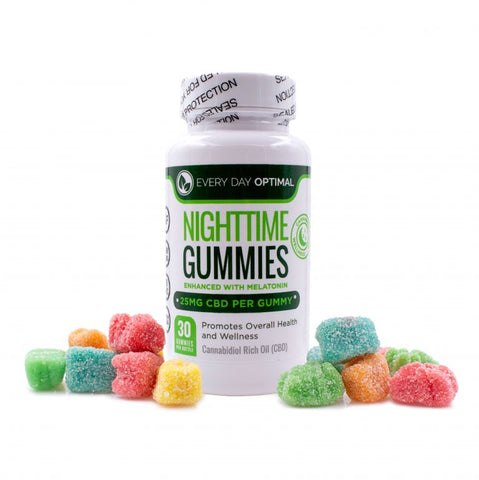 CBD Sleep Gummies | 25mg CBD Gummy Bears