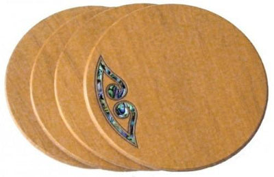 Kauri and Paua Coasters Souvenirs FromNZ