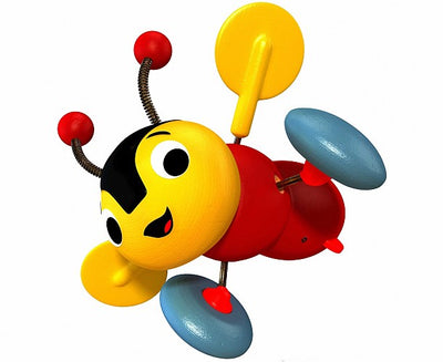 Buzzy Bee Pull-Along Wood Toy