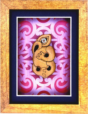 Framed Artwork - Manaia