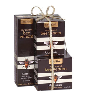 Bee Venom Tower with Manuka Honey 80+ (Serum, Moisturise, Face Mask)