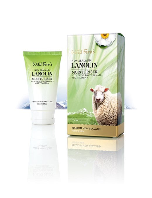 Lanolin Moisturiser with Pomegranate and Vitamin A