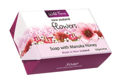 New Zealand Flowers - Soap with Manuka Honey