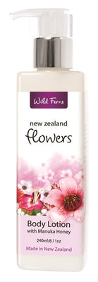 New Zealand Flowers Body Lotion with Manuka Honey