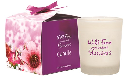 New Zealand Flowers Candle