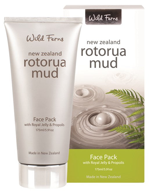 Rotorua Mud Face Pack with Royal Jelly & Propolis