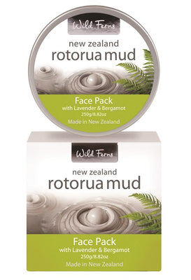Rotorua Mud Face Pack with Lavender & Bergamot