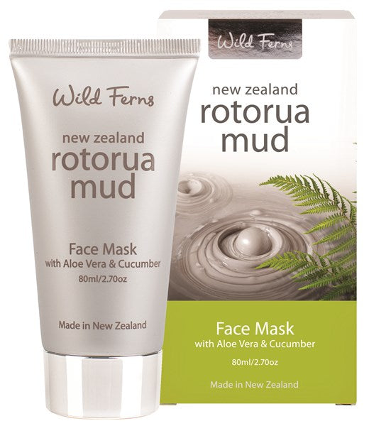 Rotorua Mud Face Mask with Aloe Vera & Cucumber